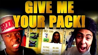 FIFA 15 - GIVE ME YOUR PACK _ BARCELONA LEGEND IN PACK !