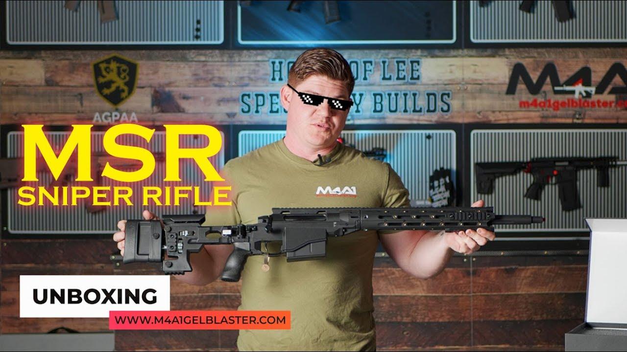 MSR Sniper Rifle (Blaster Review