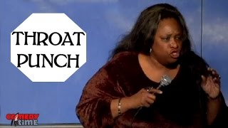 Throat Punch - Thea Vidale - Comedy Time