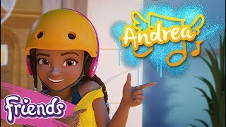 Meet Andrea! - LEGO Friends - Character Spot