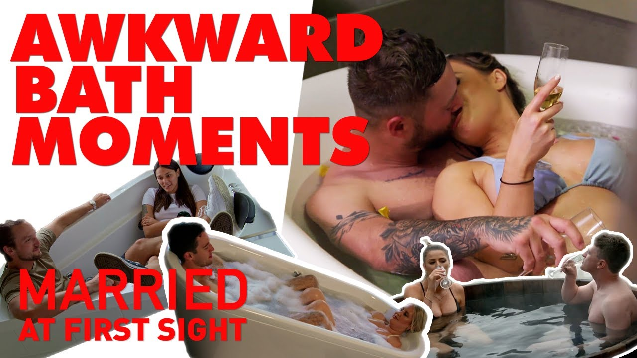 All the awkward times MAFS' couples bathed together | MAFS 2020