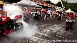 Repeat youtube video Motozona 2015 Part 2 - Girls & Superbikes Burnouts!!!