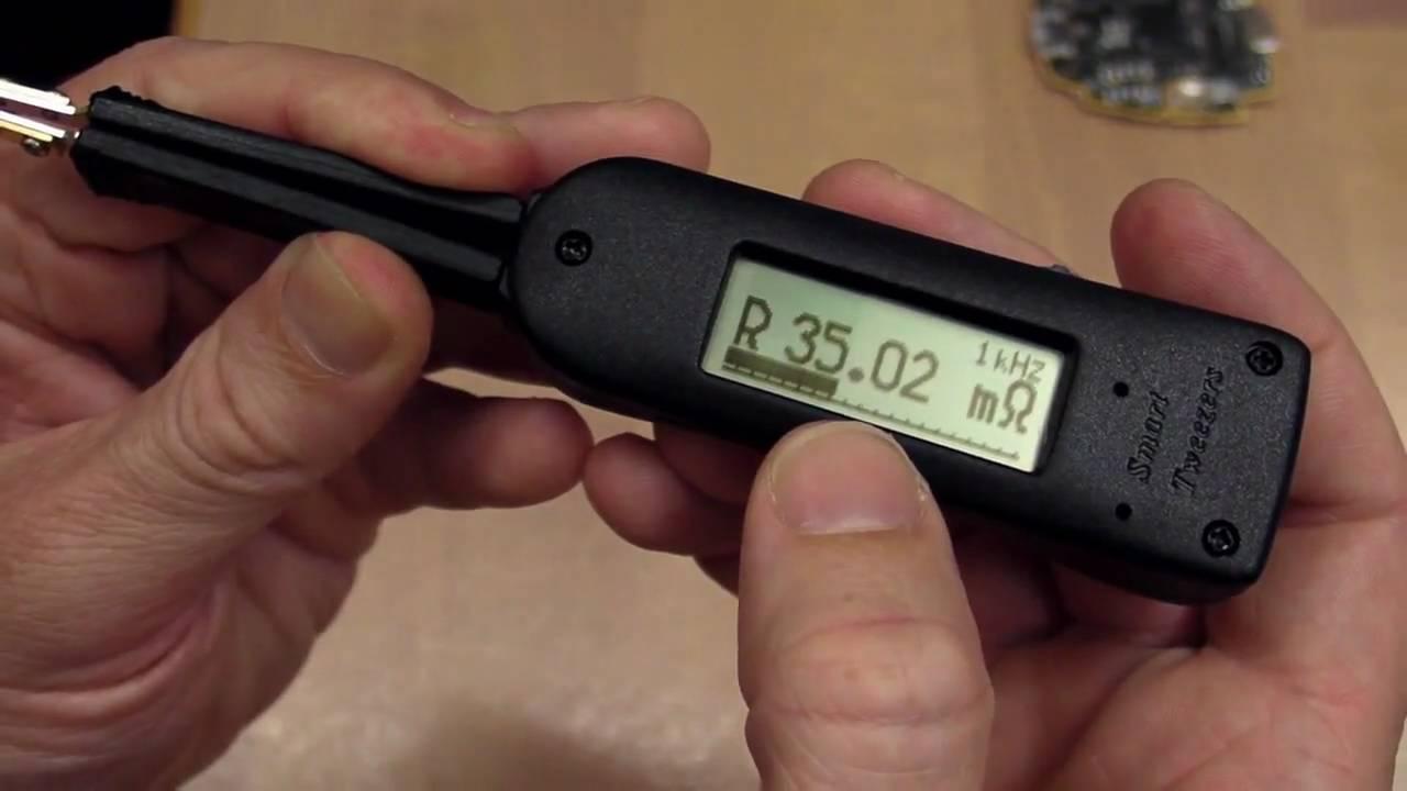 EEVblog #81 - Smart Tweezers LCR Meter Review And Teardown