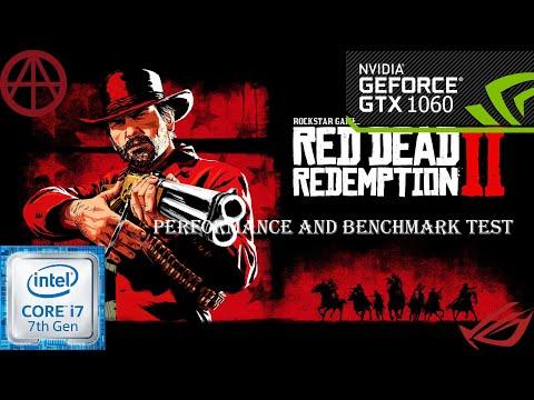 Red Dead Redemption 2 - GTX1060 6GB-cor I7 7700 | ROG GL502VM