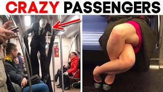 55 MOST STRANGEST PEOPLE SPOTTED ON THE SUBWAY