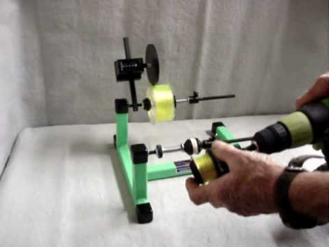 Fishing Line Winder  With Line Counter