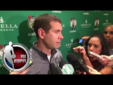 Brad Stevens gives update on Al Horford's head injury | NBA on ESPN