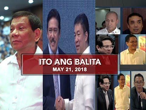 UNTV: Ito Ang Balita (May 21, 2018)