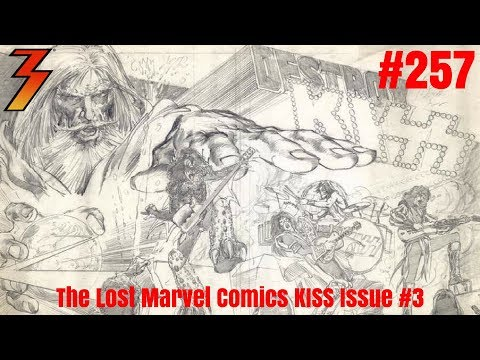 Ep. 257 Double Header - Vinnie Vincent Update and Marvel KISS Comic Issue #3