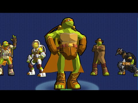 TMNT Portal Power: Corrupted Newyork - Nick Games