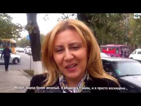 Армяне о Грузии и Грузинах на улице Ереване