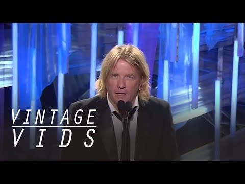 Vintage Vids: Bob Rock Inducted into The Canadian Music Hall of Fame (2007) | JUNO TV
