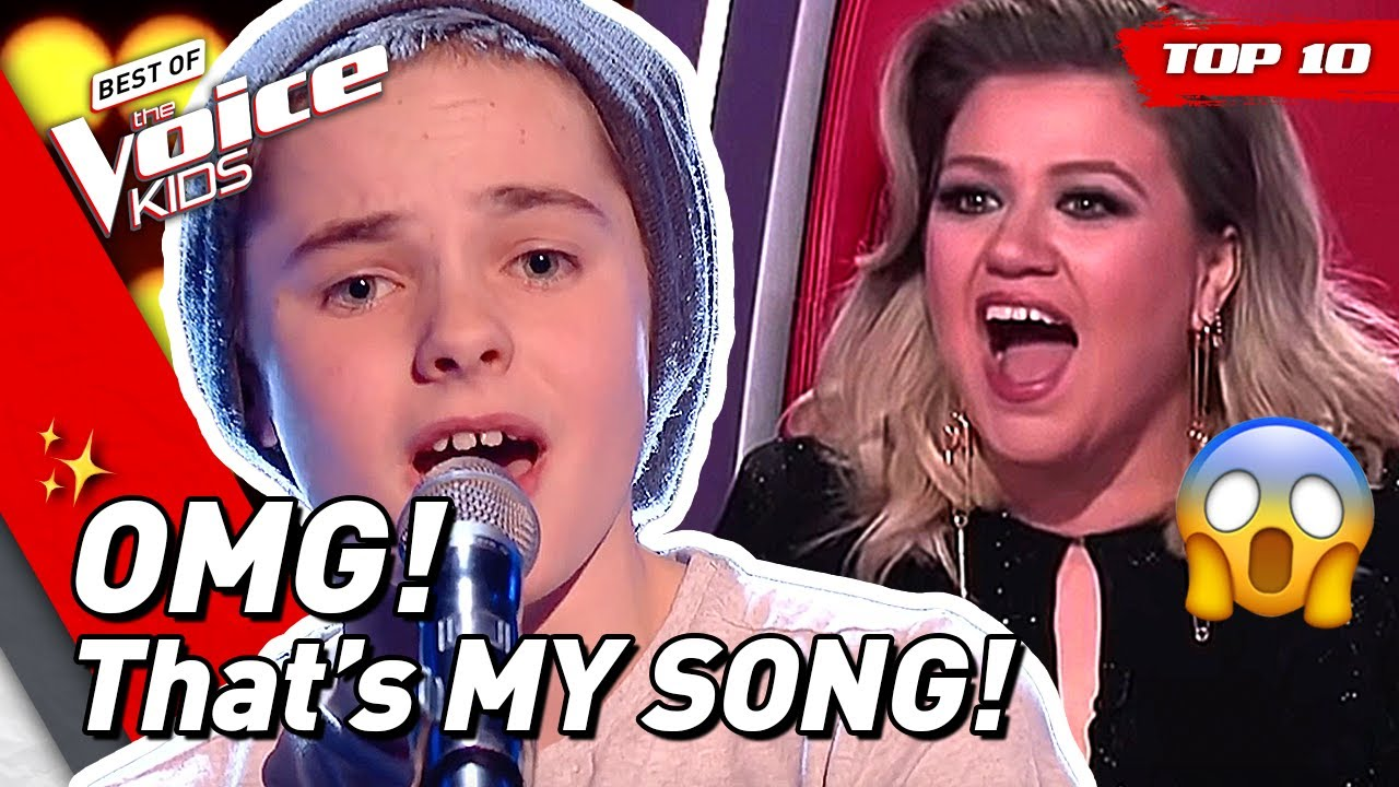 Would KELLY CLARKSON turn for these young singers in The Voice Kids? 🤩 | TOP 10