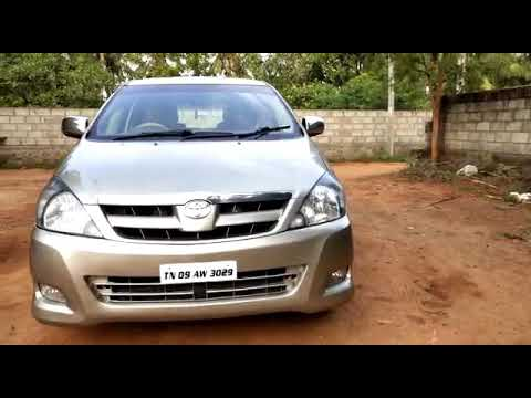 Toyota innova used car sales in Nagarkoil tamilnadu