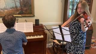 Emerson & Eliana Barth - Ave Maria - Bach/Gounod