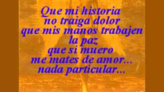 Miguel Bose Nada particular Lyrics