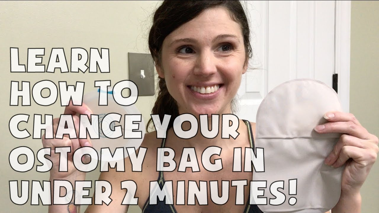 Learn how to change your ostomy bag in under 2 minutes