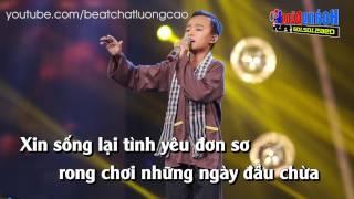 Karaoke - CÒN THƯƠNG RAU ĐẮNG MỌC SAU HÈ - Hồ Văn Cường