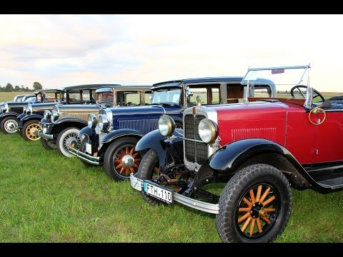 "Antique Vehicle Club ""Klasika"" - Antique Car Show ""Birzai 2013"" in Lithuania"