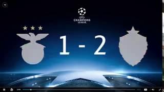 Benfica 1 - 2 CSKA Moscow Champions League 2017 Highlight