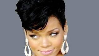 Rihanna Inspired Hair Tutorial