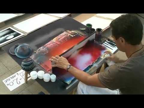 Amazing Street Artist Painting 3d pictures