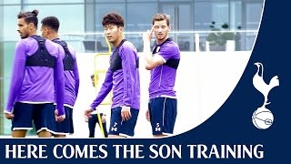 Heung-Min Son In Training #HereComesTheSon