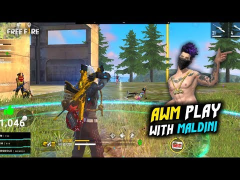Pro Play? Maldini Paolo, Wizardo and TGAD with 2 AWM Must Watch - Garena Free Fire