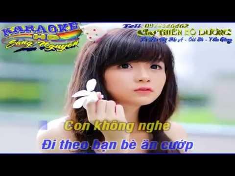 Tình thơ - Chế - KARAOKE HD