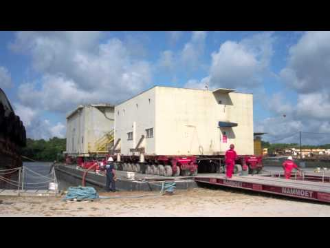 Marine Department Quarters Move