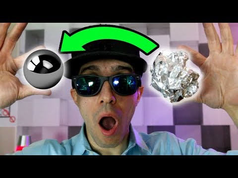 DIY Aluminum Foil Mirror Ball Challenge - How To Make the Japanese Polishing Mirror Ball