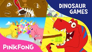 Dinosaur Game SPECIAL | Tyrannosaurus-Rex Game and More | +Compilation | PINKFONG Songs for Children