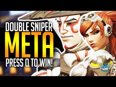 Overwatch - The Double SNIPER Meta - Hanzo and Widow OP? thumbnail