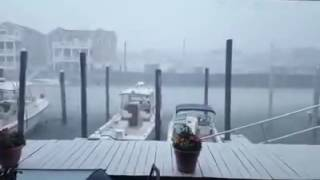 Crazy Storm In Wildwood Harbor P2
