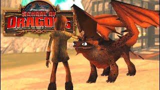 Escola de Dragões Nova Temporada - Dragão Fantasma de Areia Mingau - School of Dragons #01