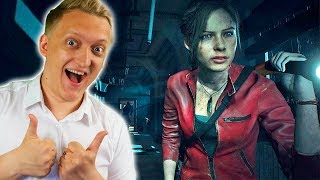 100% Полное прохождение за Клер Редфилд (Сценарий Б) и секретная концовка в Resident Evil 2 Remake