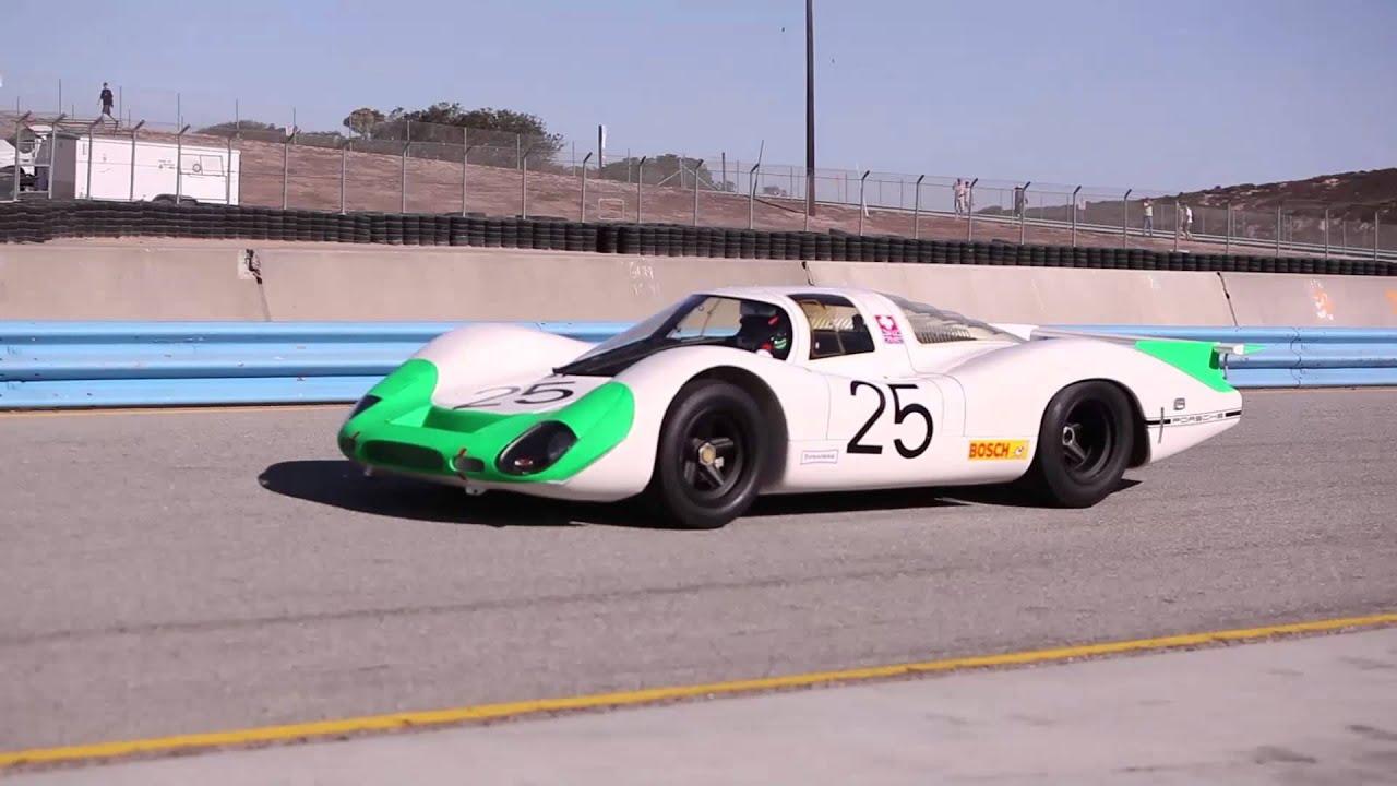 One Lap in a 1969 Porsche 908 LH at Rennsport V - YouTube
