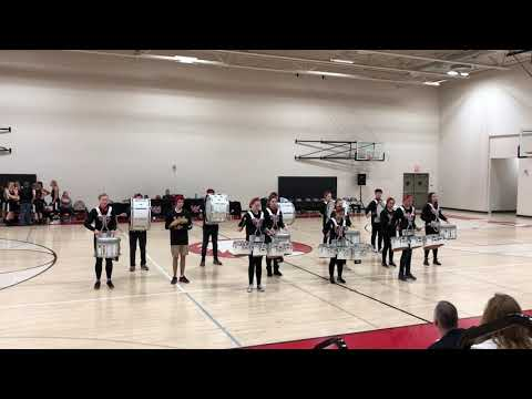 Westside Christian High School EagleBeat Drumline 1-31-2018