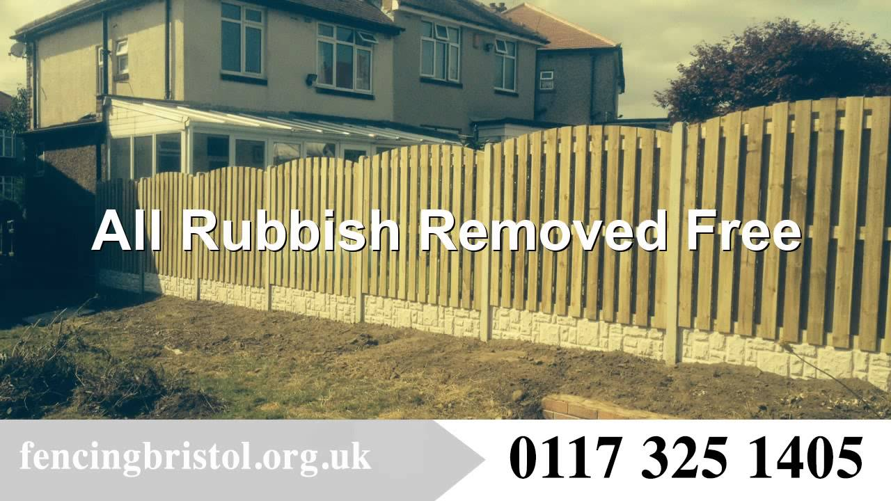 Types Of Garden Fencing Bristol