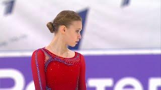 Майя Хромых Произвольная программа Женщины Кубок России по фигурному катанию 2020 21