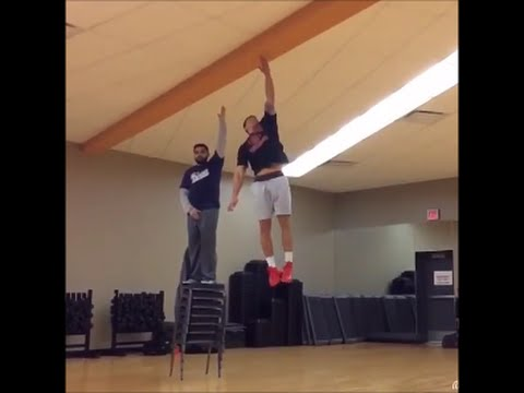 amazing vertical jumps