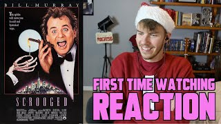 Scrooged (1988) - MOVIE REACTION - FIRST TIME WATCHING