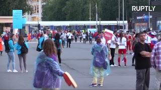 LIVE: Болельщики выходят со стадиона «Лужники»