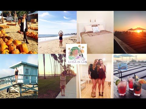 FMA 59 I LA Woche 5, Venice Beach, Beverly Hills, Santa Barbara, Visum, Beach Workout, Autopanne