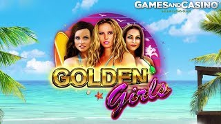 """New online casino slot """"Golden Girls"""" by Booming Games"""