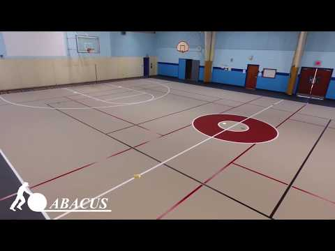 Stages of a Gym Floor Installation: Hinkletown Mennonite School