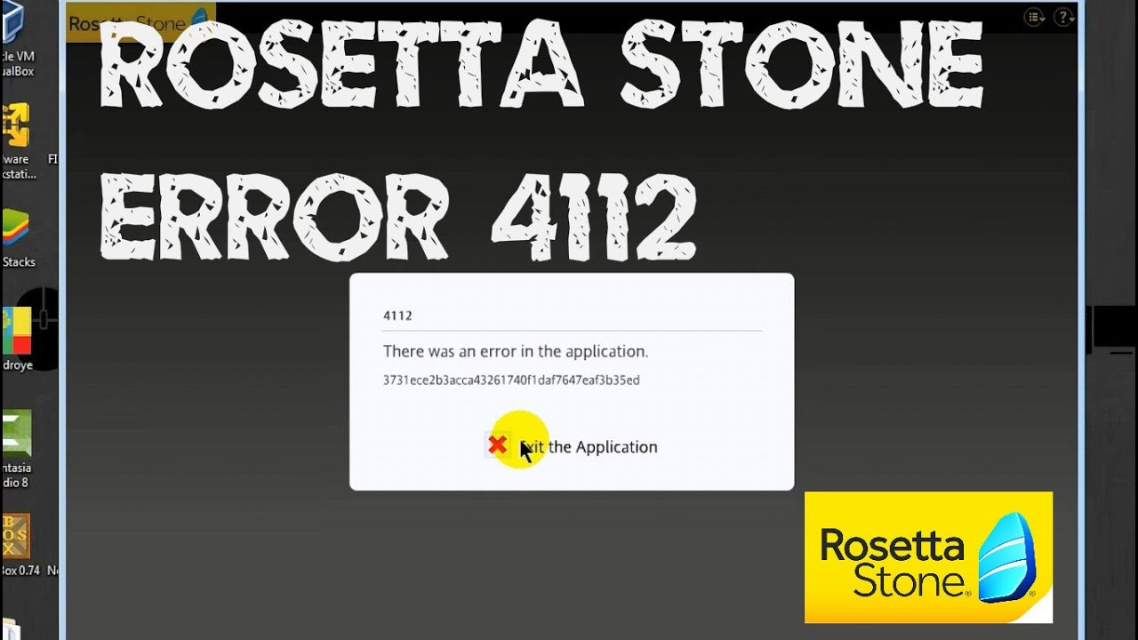 Rosetta Stone Elevation Error : Memperbaiki rosetta stone error youtube