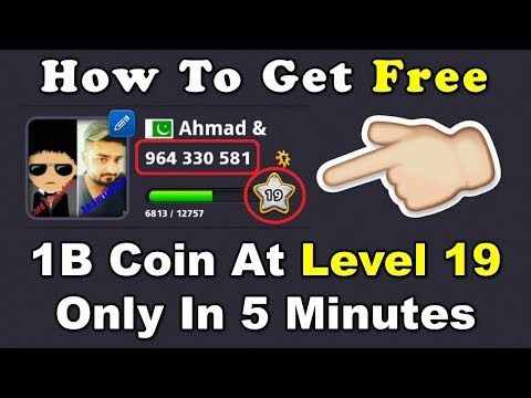 How To Get Free 1B Coin At Level 19 In 5 Minutes Only