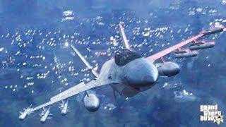 Como robar/cojer un avion caza en GTA V