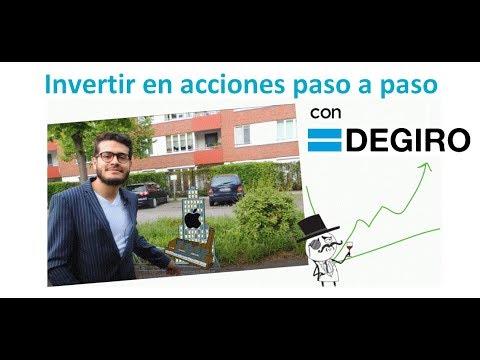 Broker DEGIRO tutorial en español: guía para comprar acciones paso a paso (SOLO España)